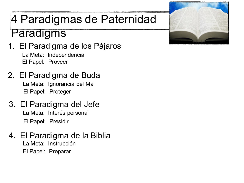 4 Paradigmas de Paternidad Paradigms