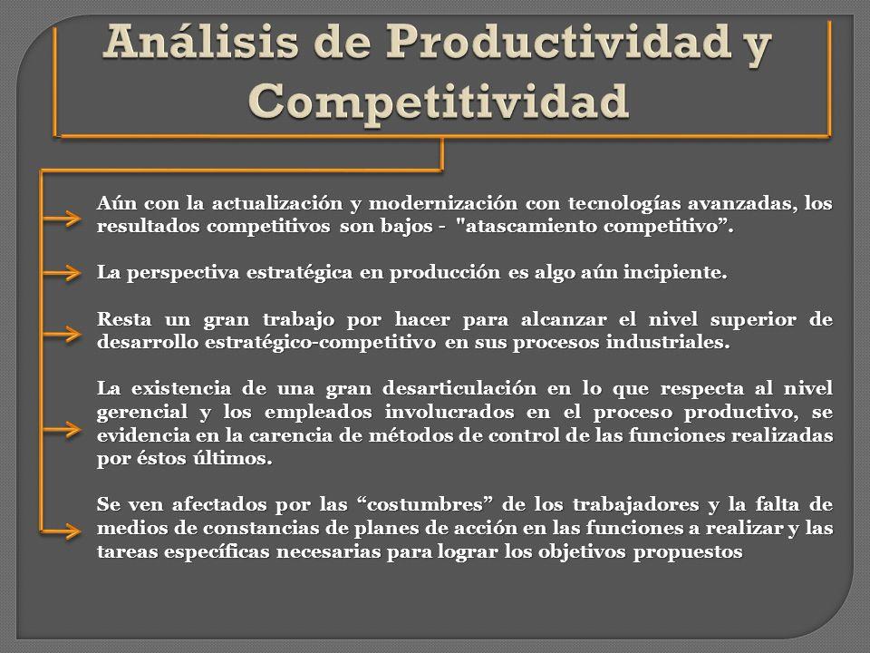 Análisis de Productividad y Competitividad