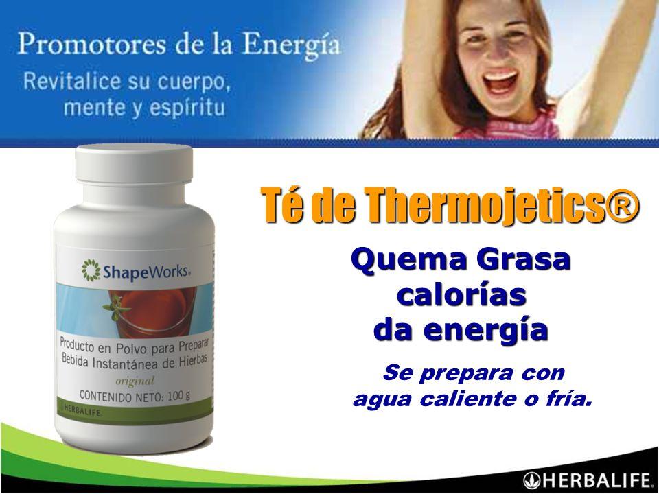 Té de Thermojetics® Quema Grasa calorías da energía Se prepara con