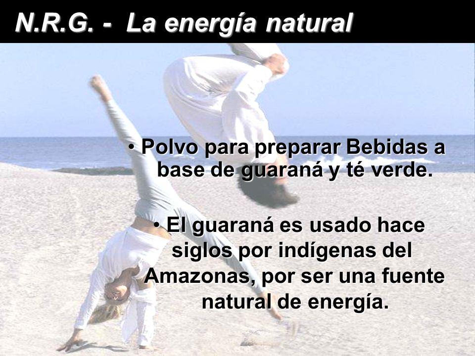 N.R.G. - La energía natural