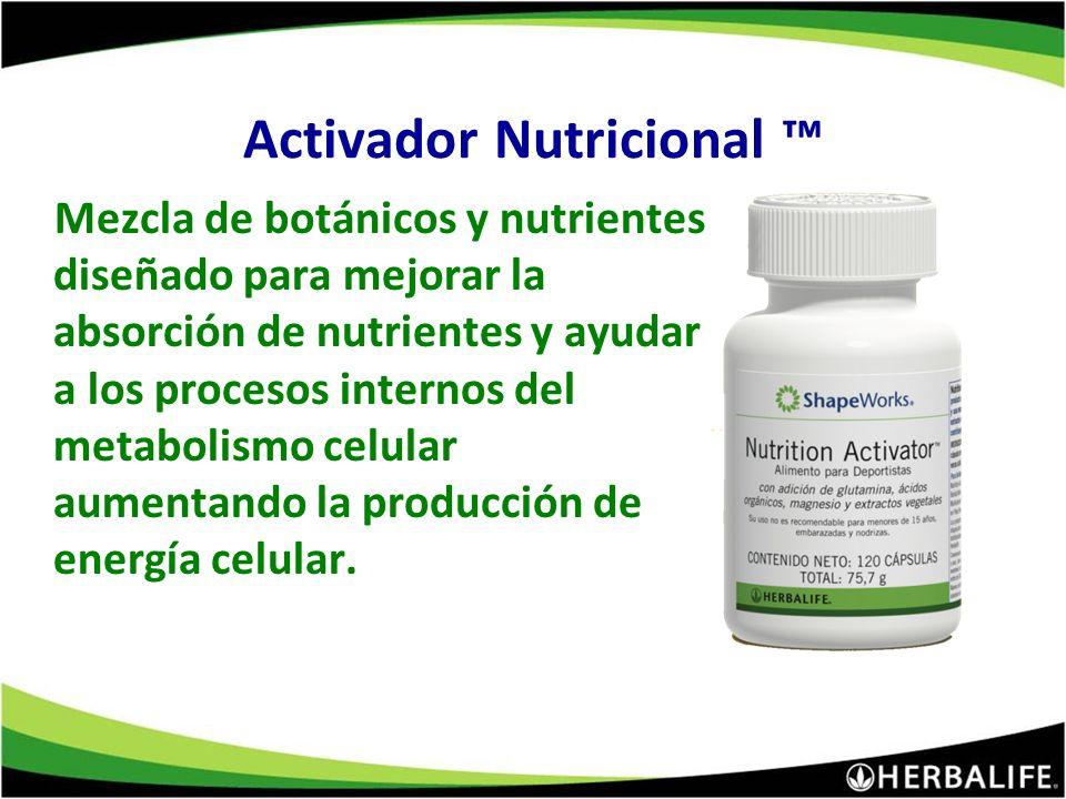 Activador Nutricional ™