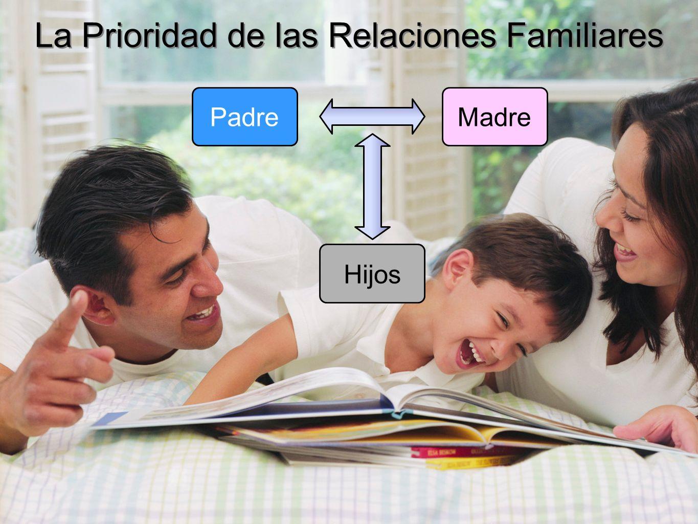 La Prioridad de las Relaciones Familiares