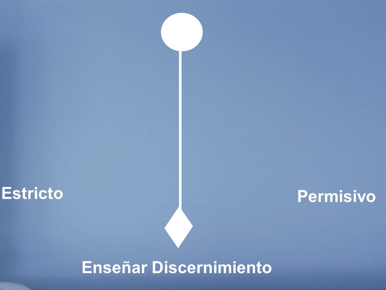 Estricto Permisivo Enseñar Discernimiento