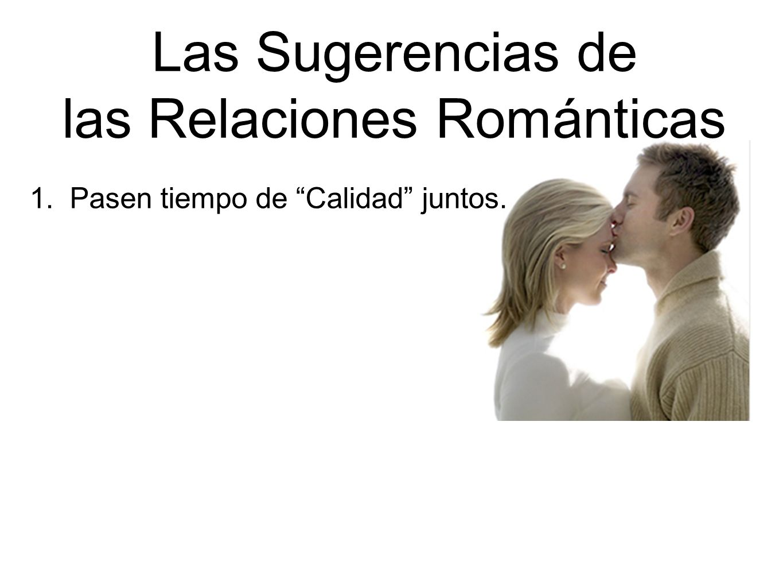 las Relaciones Románticas