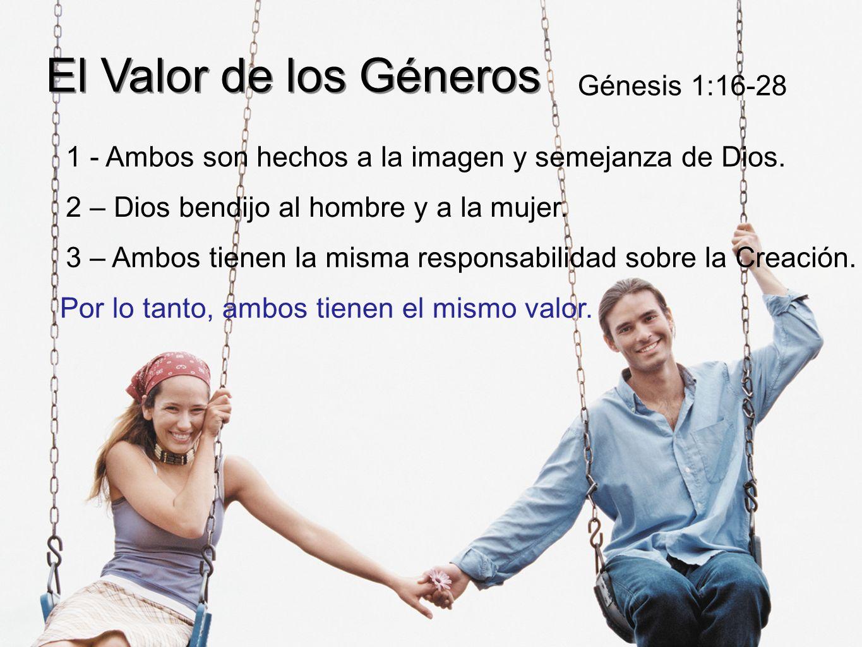 El Valor de los Géneros Génesis 1:16-28
