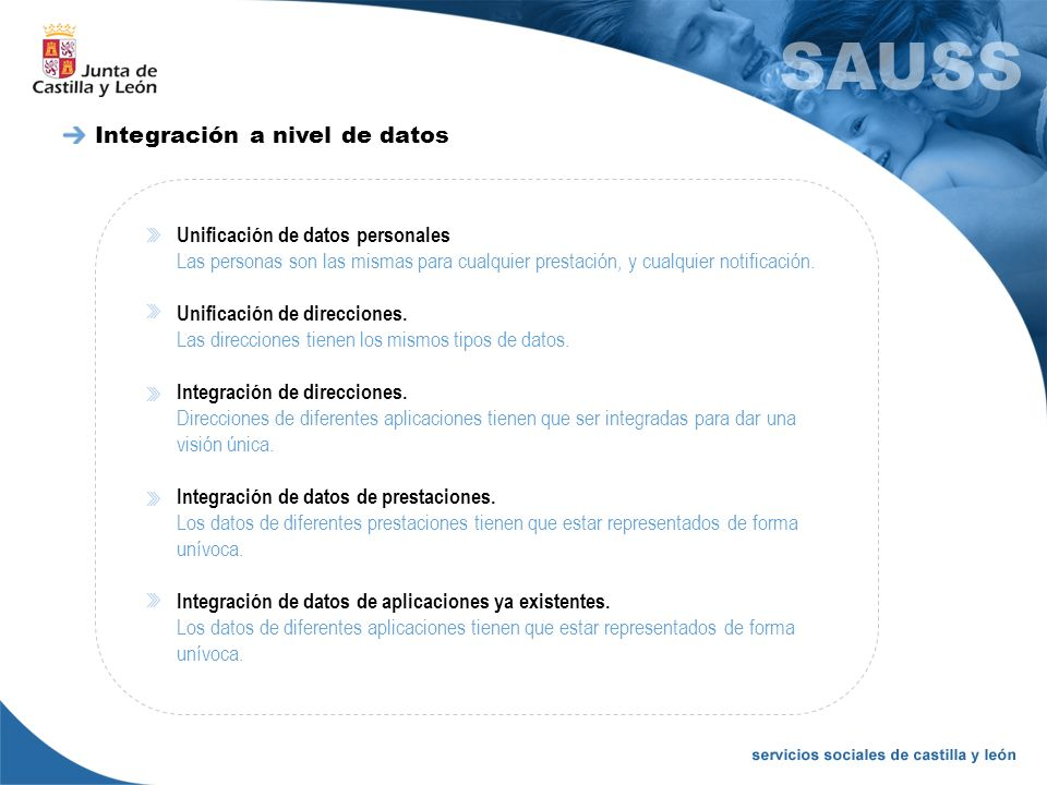 Integración a nivel de datos