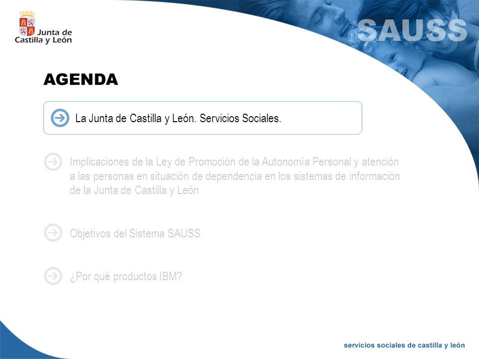 AGENDA La Junta de Castilla y León. Servicios Sociales.