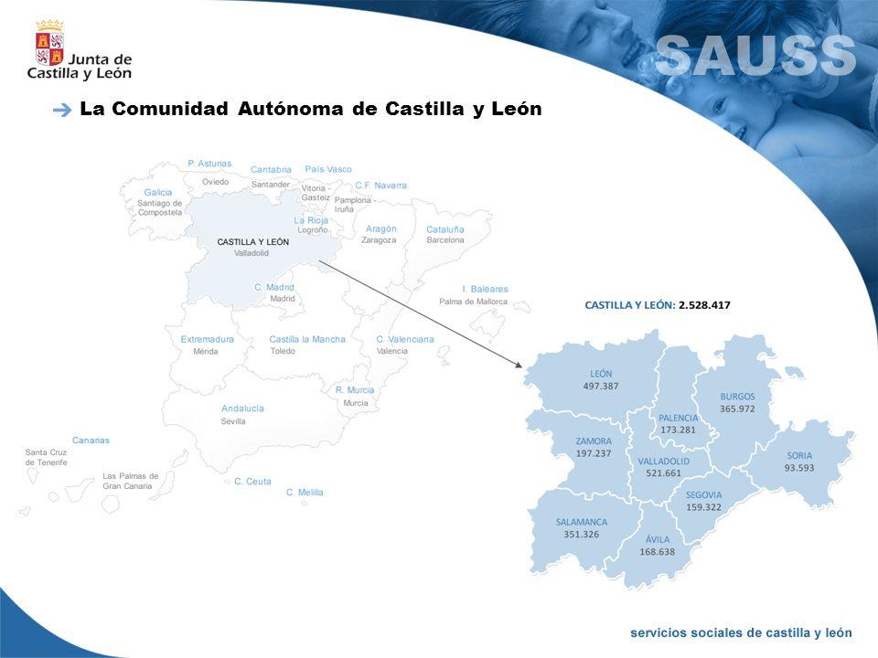 La Comunidad Autónoma de Castilla y León