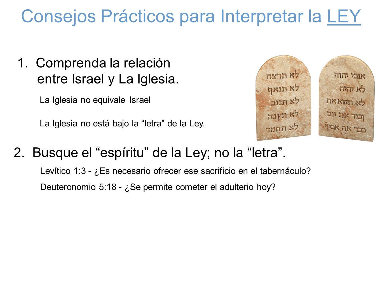 Consejos Prácticos para Interpretar la LEY