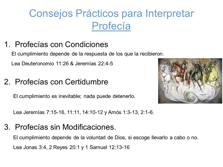 Consejos Prácticos para Interpretar Profecía