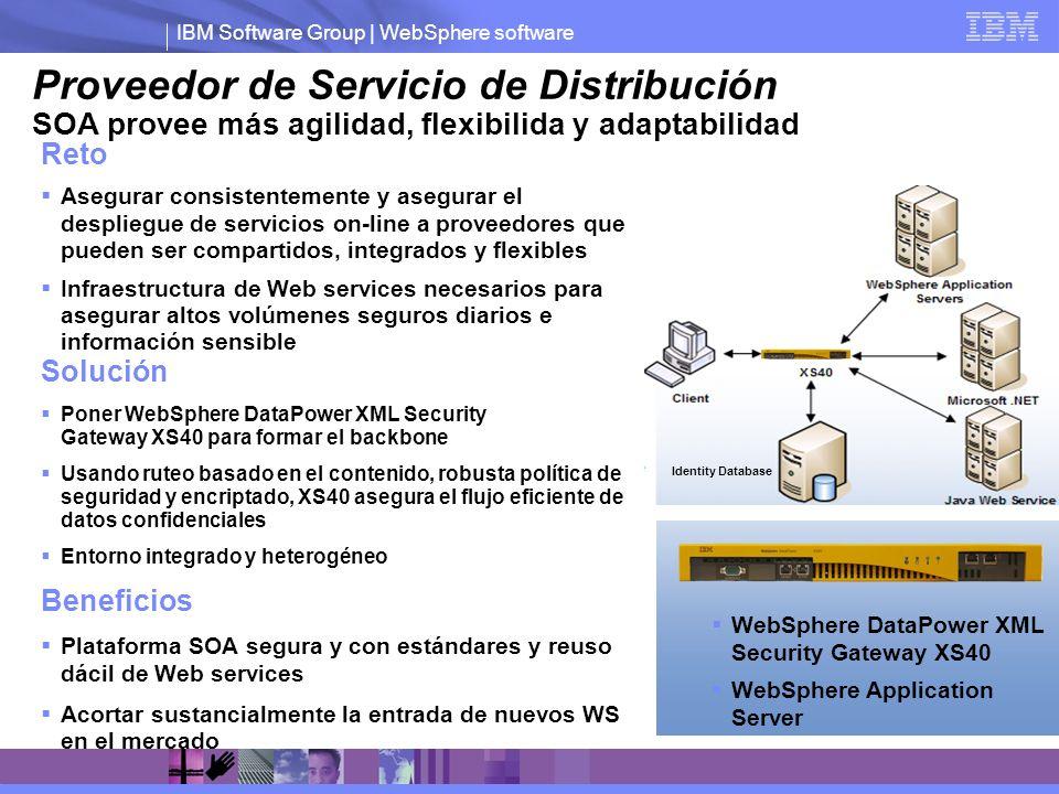 Proveedor de Servicio de Distribución SOA provee más agilidad, flexibilida y adaptabilidad