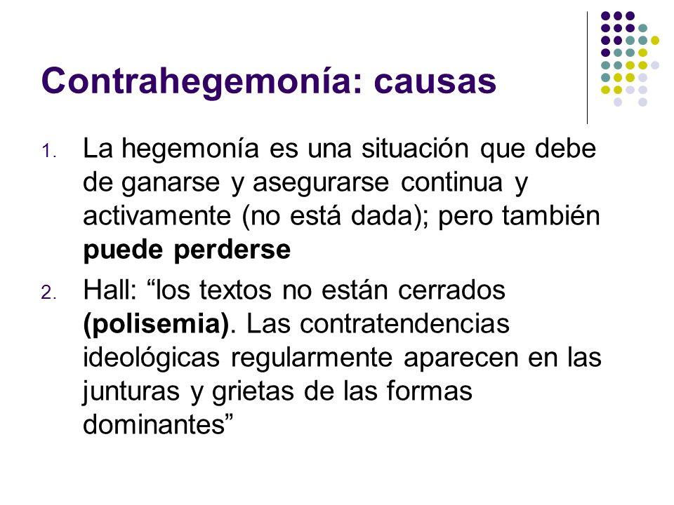Contrahegemonía: causas