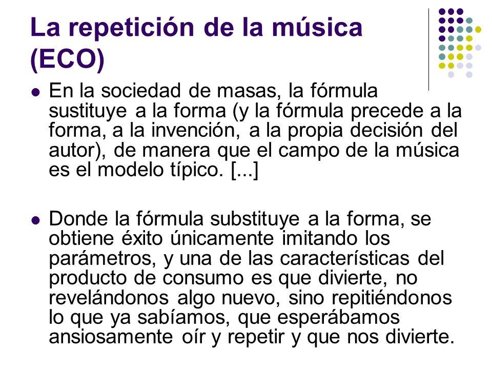 La repetición de la música (ECO)