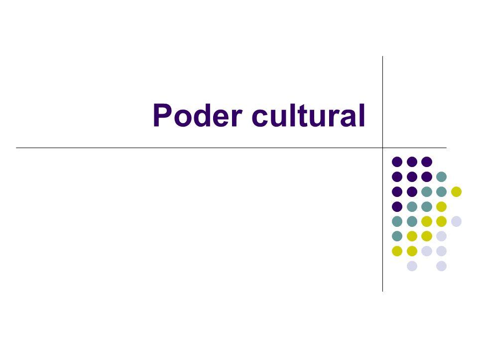 Poder cultural