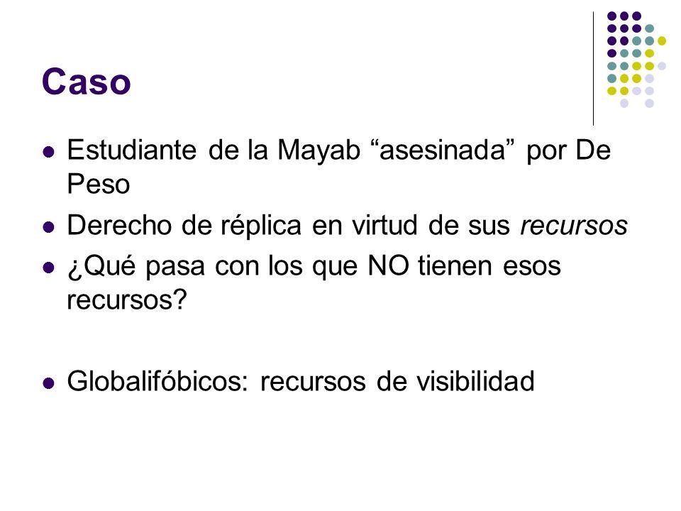 Caso Estudiante de la Mayab asesinada por De Peso