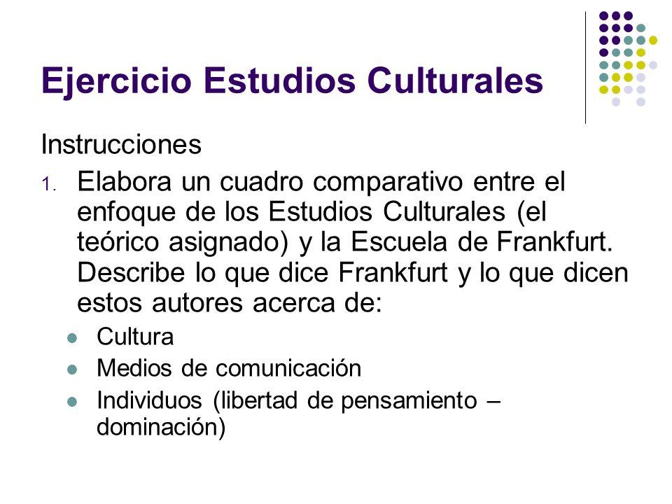 Ejercicio Estudios Culturales