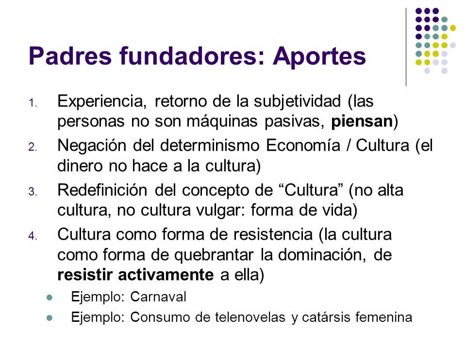 Padres fundadores: Aportes