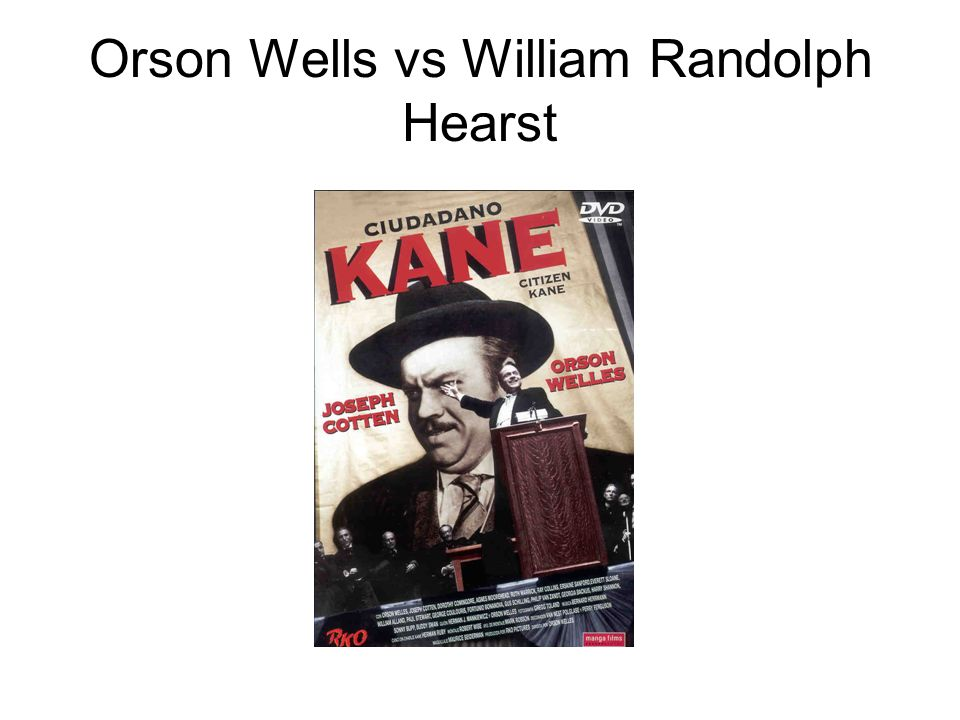 Orson Wells vs William Randolph Hearst