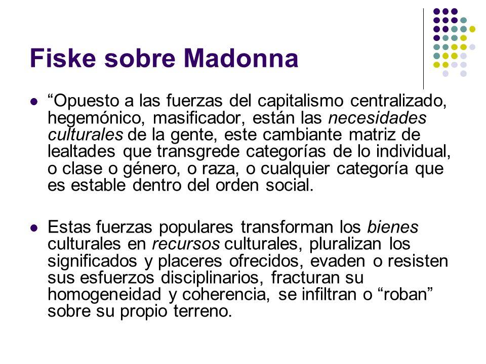 Fiske sobre Madonna