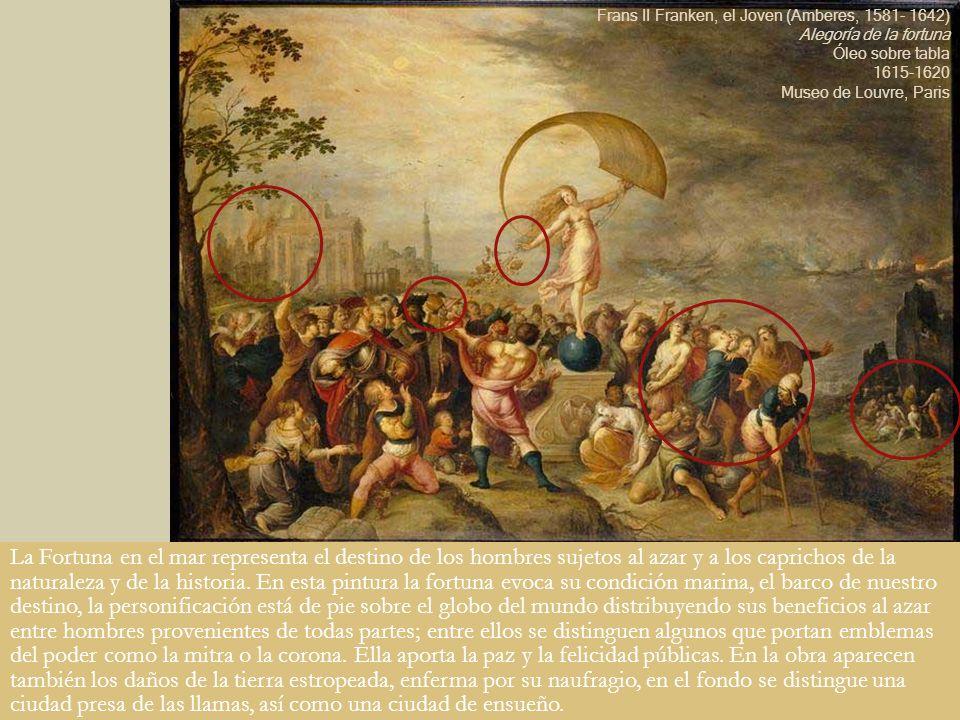 Frans II Franken, el Joven (Amberes, 1581- 1642) Alegoría de la fortuna