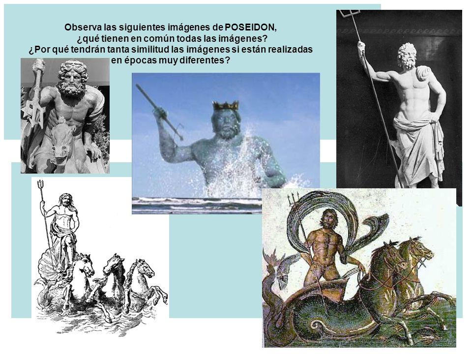 Observa las siguientes imágenes de POSEIDON, ¿qué tienen en común todas las imágenes.