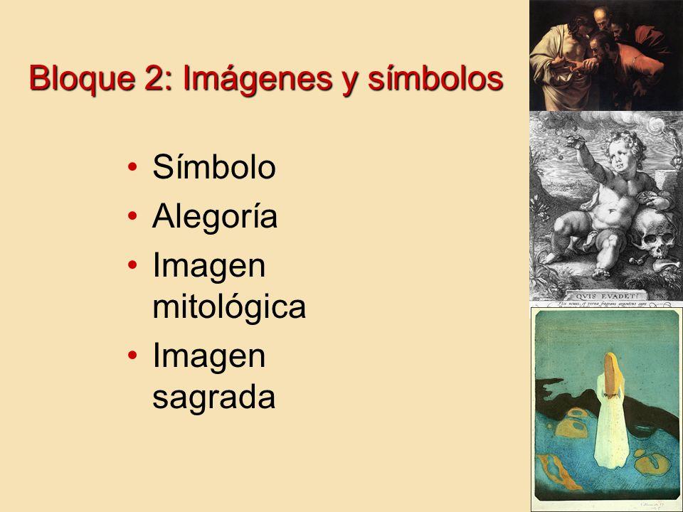 Bloque 2: Imágenes y símbolos