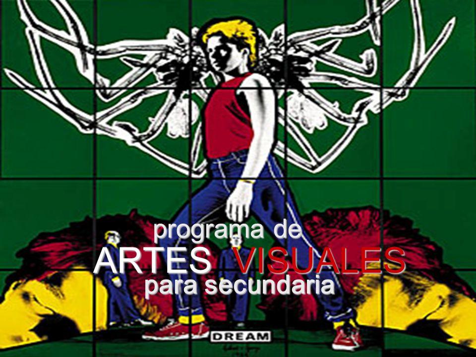 ARTES VISUALES programa de para secundaria