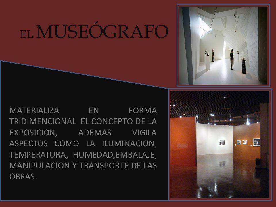 EL MUSEÓGRAFO