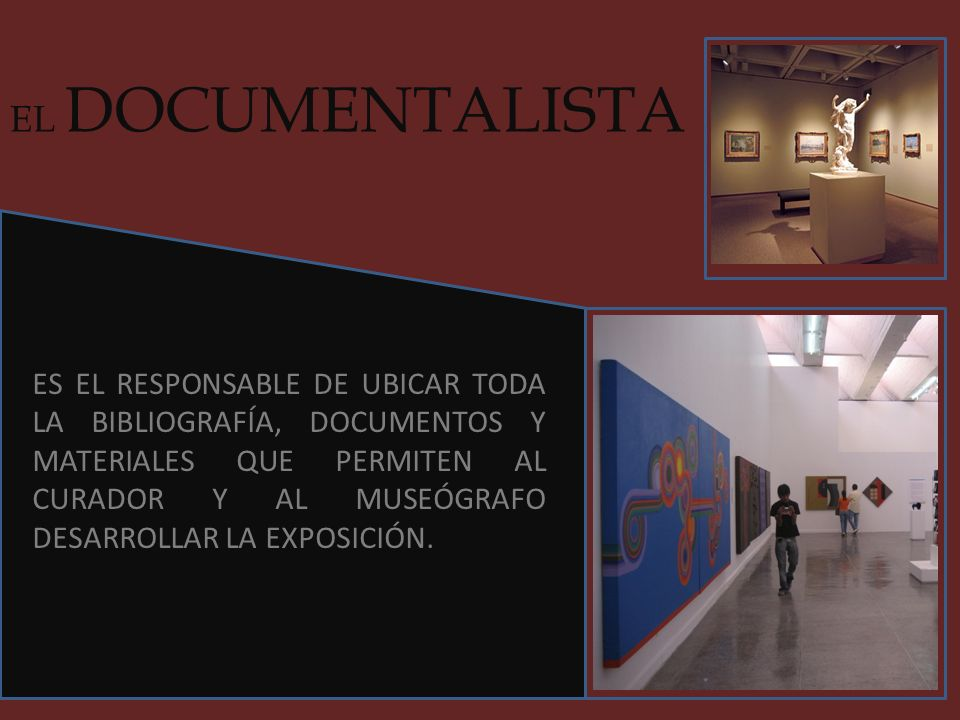 EL DOCUMENTALISTA