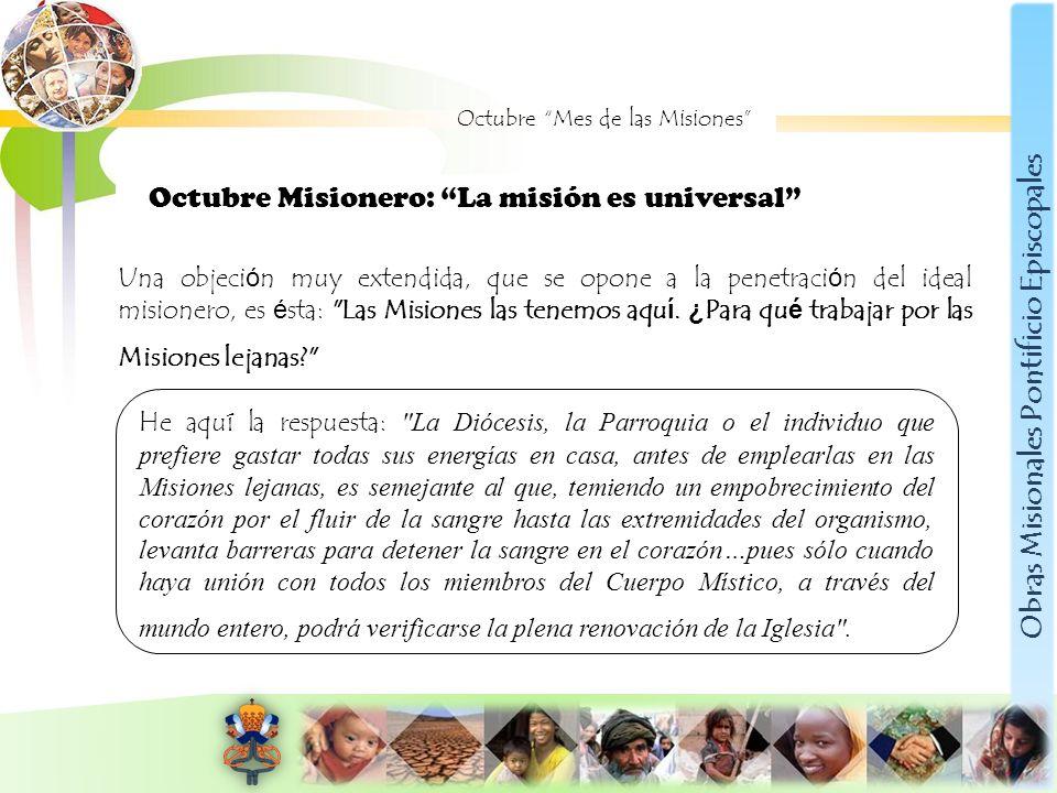 Obras Misionales Pontificio Episcopales