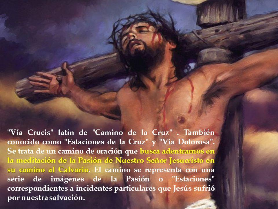 Vía Crucis latín de Camino de la Cruz