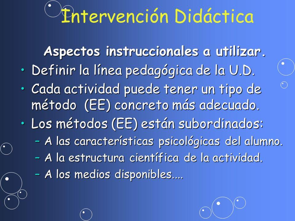 Intervención Didáctica