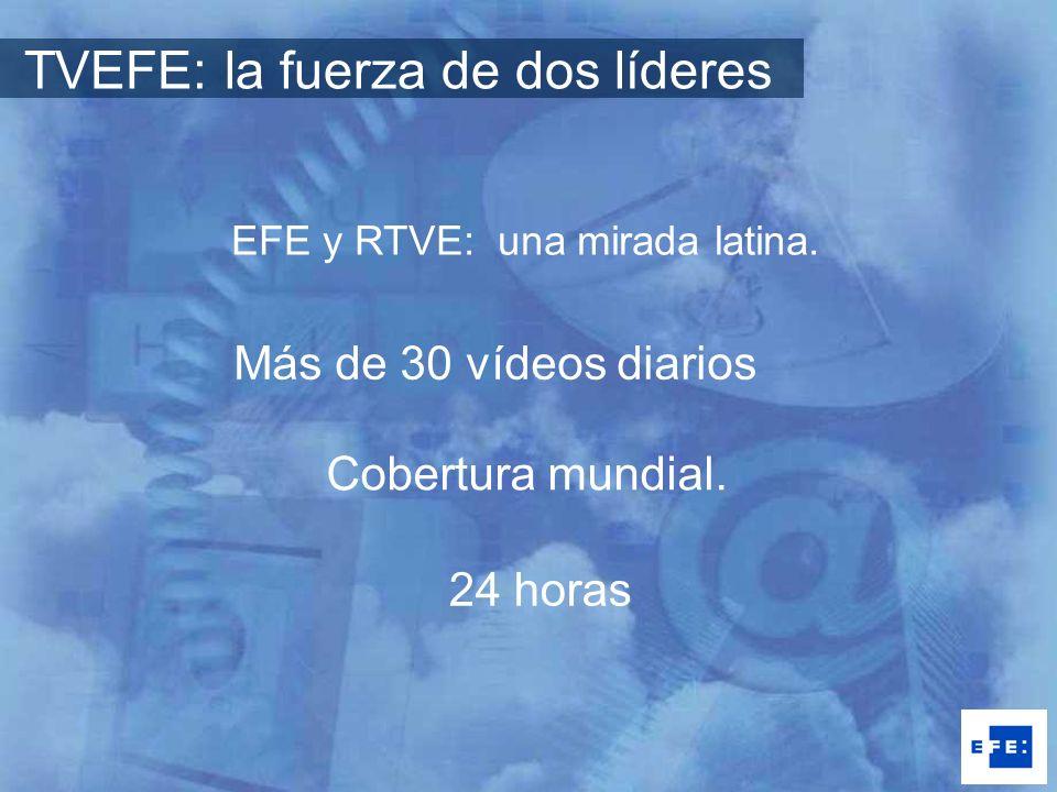 EFE y RTVE: una mirada latina.