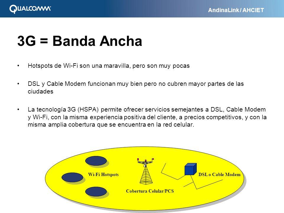 3G = Banda Ancha Hotspots de Wi-Fi son una maravilla, pero son muy pocas.