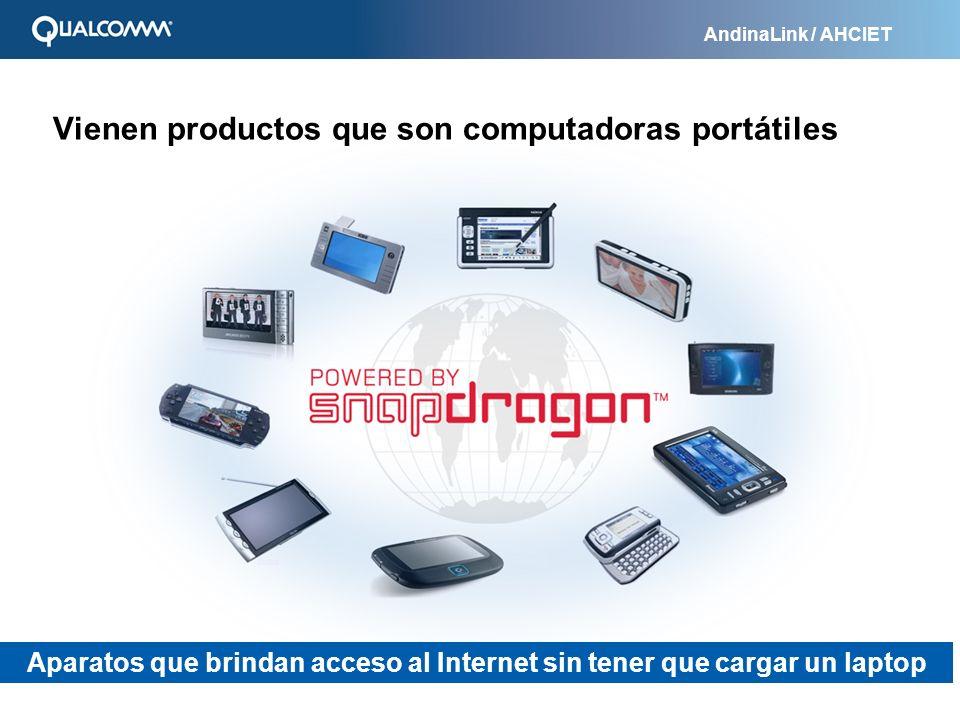 Vienen productos que son computadoras portátiles