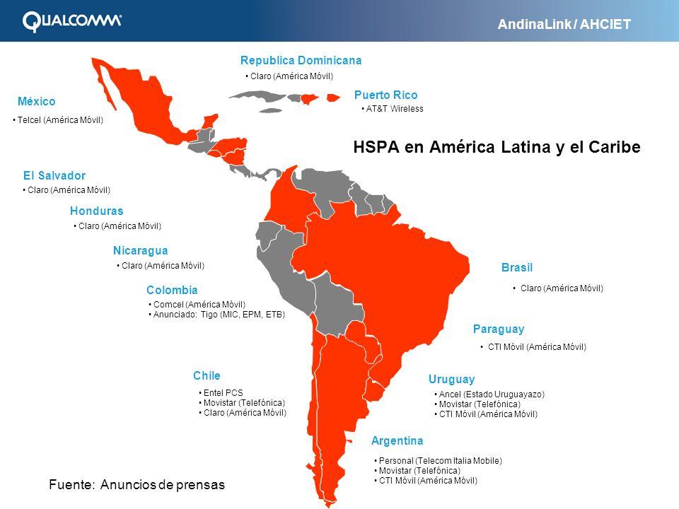HSPA en América Latina y el Caribe