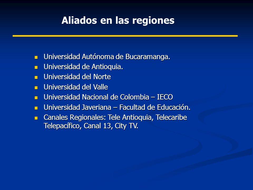 Aliados en las regiones