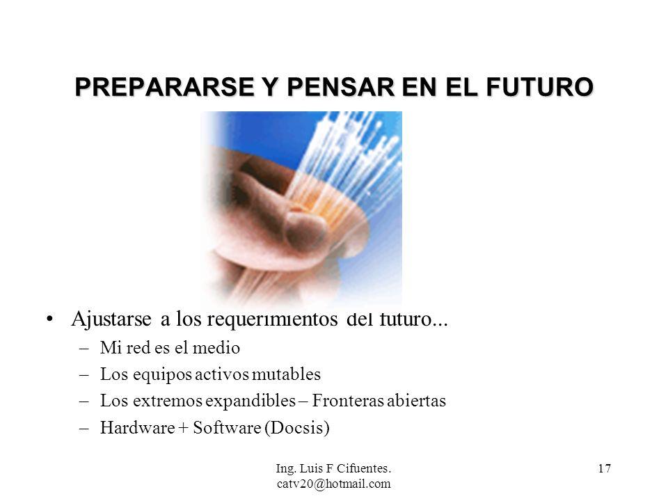 PREPARARSE Y PENSAR EN EL FUTURO