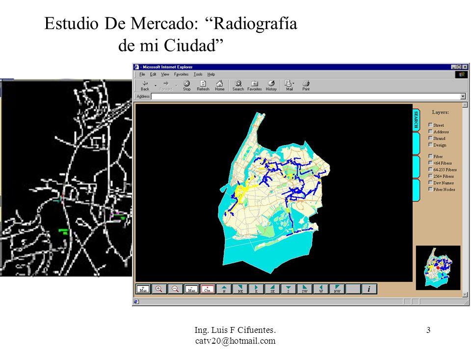 Estudio De Mercado: Radiografía de mi Ciudad
