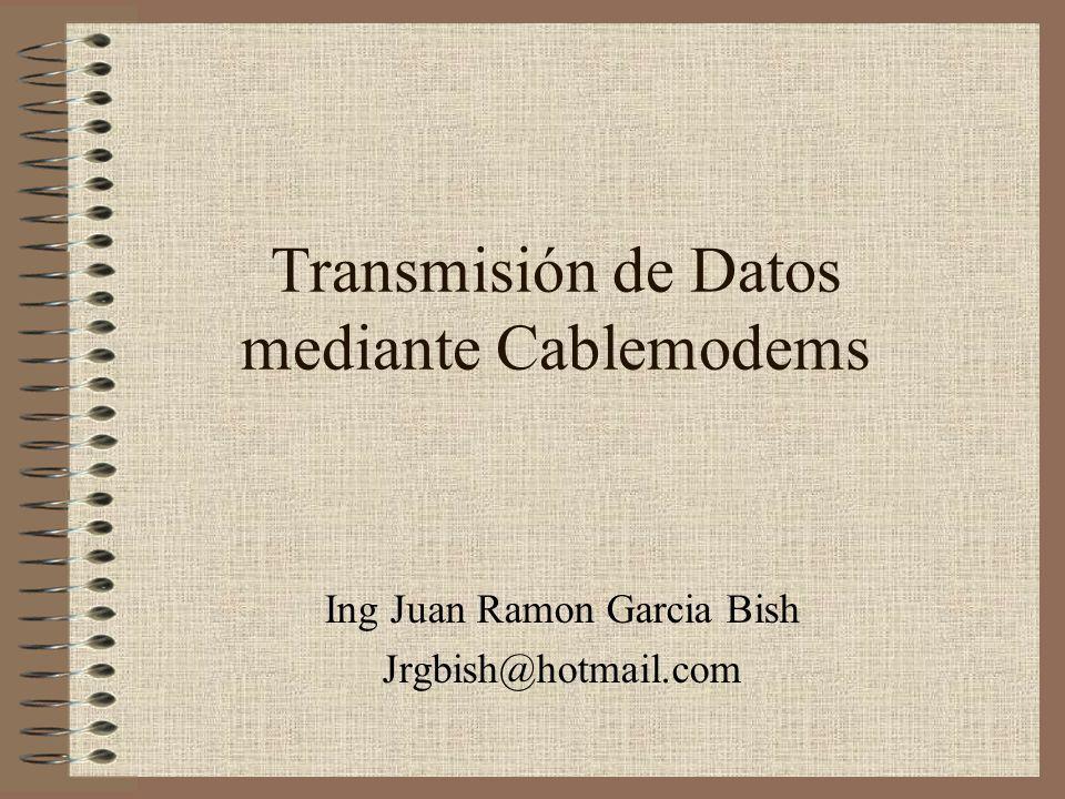 Transmisión de Datos mediante Cablemodems