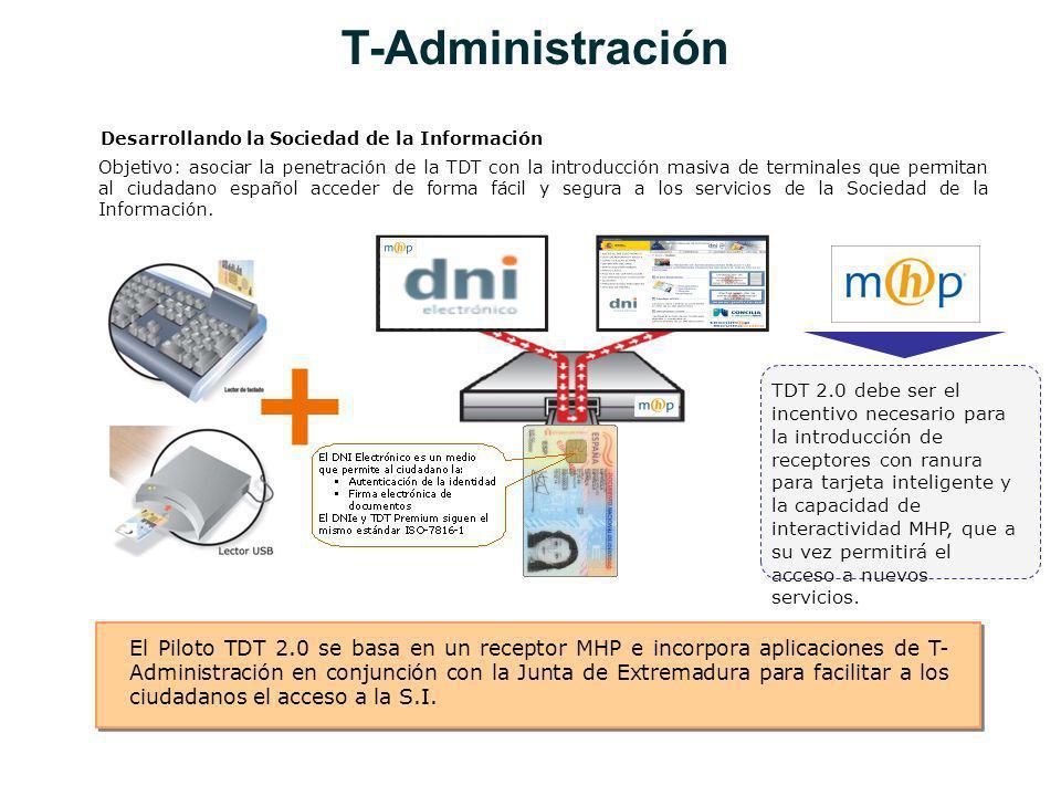 T-Administración Desarrollando la Sociedad de la Información.
