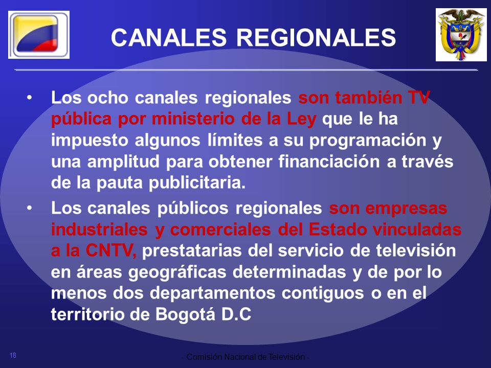 CANALES REGIONALES