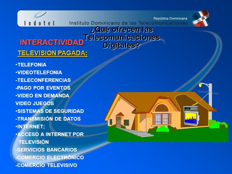 ¿Qué ofrecen las Telecomunicaciones Digitales