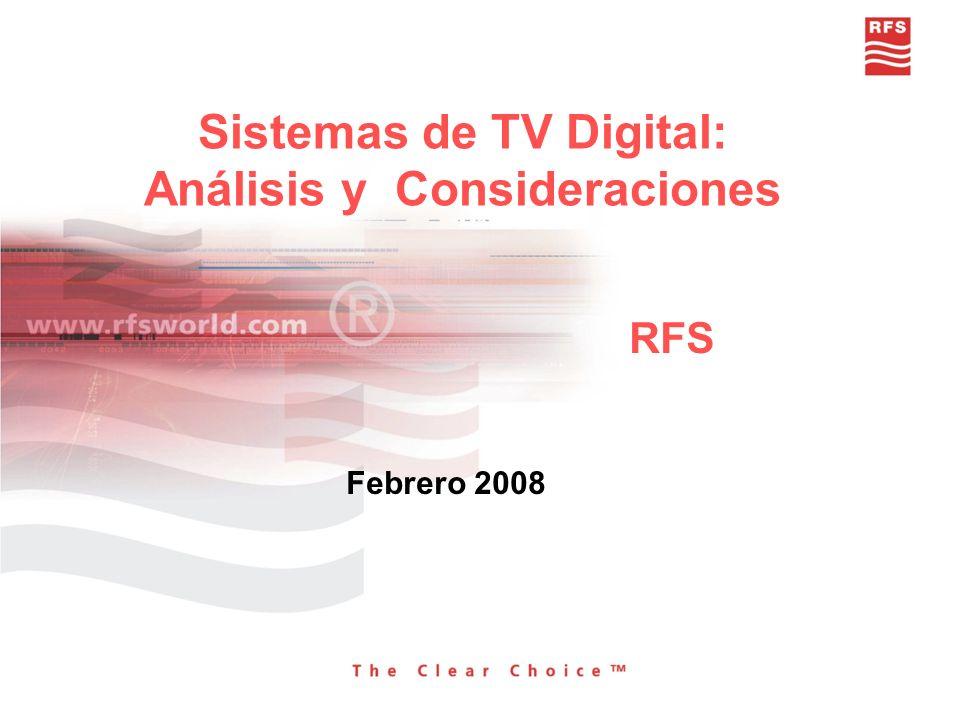 Sistemas de TV Digital: Análisis y Consideraciones
