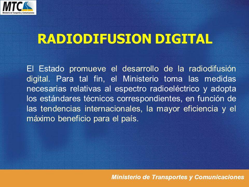 RADIODIFUSION DIGITAL