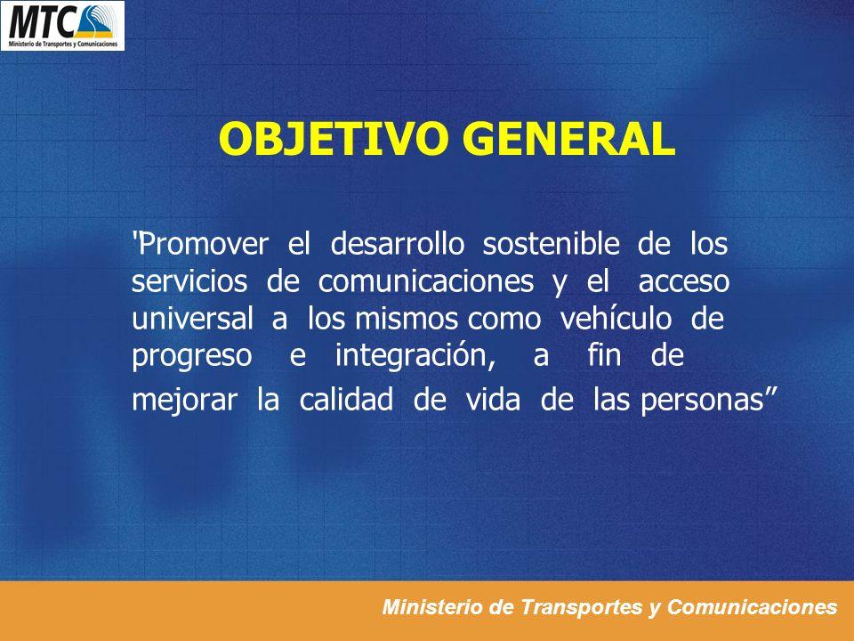 OBJETIVO GENERAL mejorar la calidad de vida de las personas
