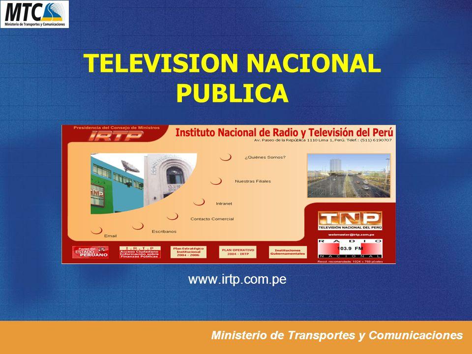 TELEVISION NACIONAL PUBLICA