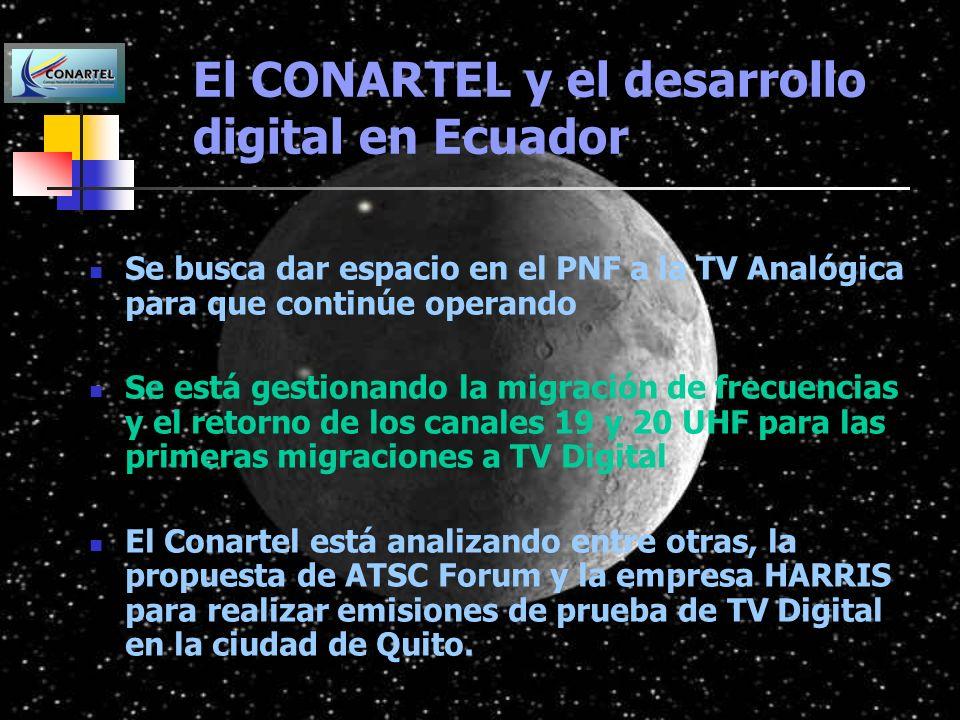 El CONARTEL y el desarrollo digital en Ecuador