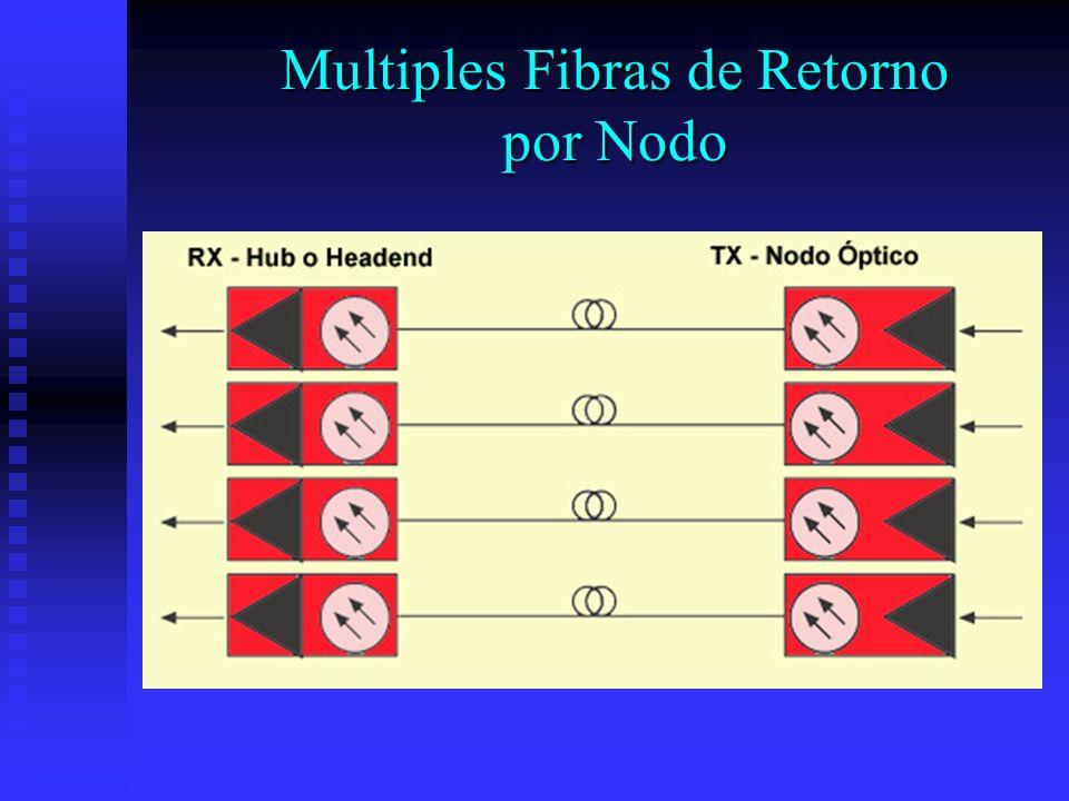 Multiples Fibras de Retorno por Nodo