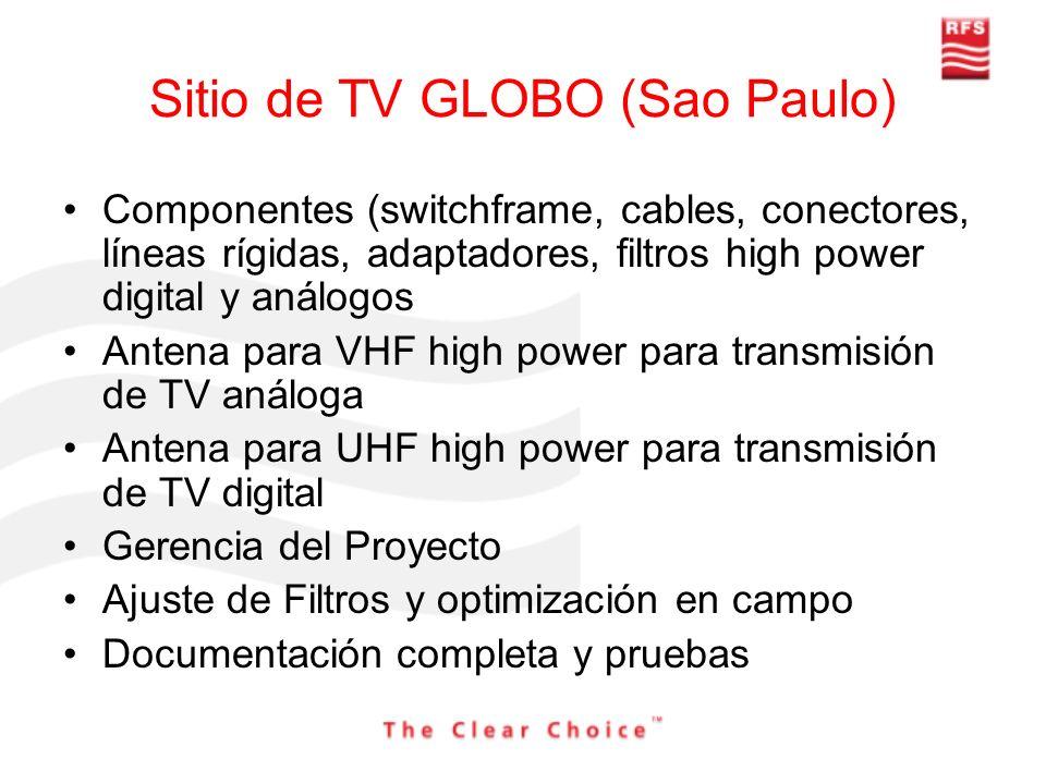 Sitio de TV GLOBO (Sao Paulo)